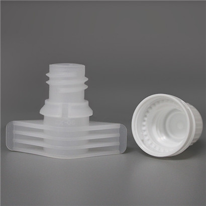 PE Food Grade Plastic Spout Cap 9.6mm Diameter for Baby Food Pouch