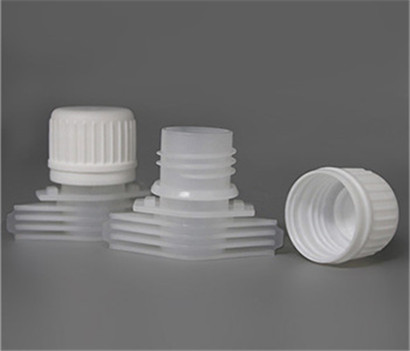 PE Pilfer Proof Plastic Spout Cap 16mm For Stand Up Pouches