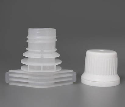 Dia 15mm Theft Proof Plastic Spout Caps Top For Baby Food Pouch