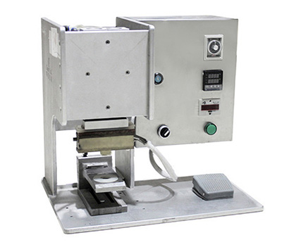 Semi  Automatic / Manual Degassing Valve Sealing Machine For Coffee Pouch