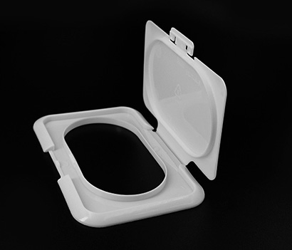 98mm Snap lock wet wipe lids for cleaning tissue package